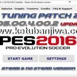 PES 2016 PES Tuning Patch v1.05.00.4.00.2 Update