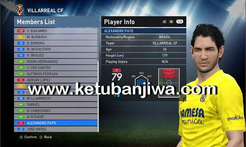 PES 2016 PTE Patch 6.0 Option File Update 31 July 2016 by Boris Ketuban Jiwa
