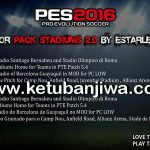 PES 2016 Stadium Pack 2.0 Fix Update by Estarlen Silva