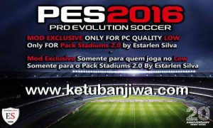 PES 2016 Stadium Pack 2.0 Mod For Low Quality PC
