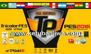PES 2016 TricolorPES Patch Gold Final Version
