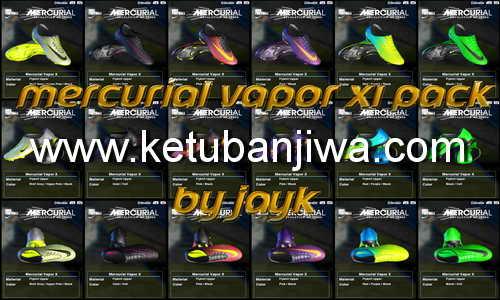 PES 2013 Mercurial Vapor XI Pack Released by Jayk