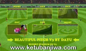 PES 2016 Beautiful Pitch v3 by Dayu