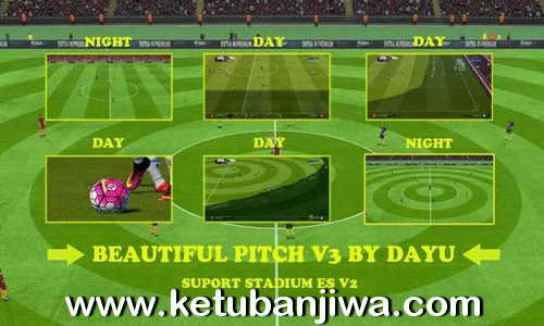 PES 2016 Beautiful Pitch v3 by Dayu Ketuban Jiwa