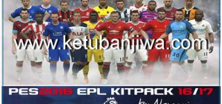PES 2016 English Premier League Kitpack v1 Season 16/17 by NemanjaBRE