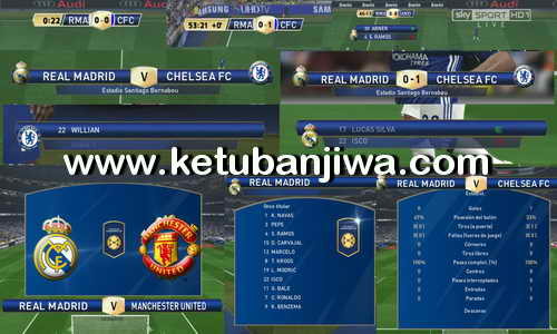 PES 2016 International Cup Scoreboard Without Replay Logo by JesusHrs Ketuban Jiwa