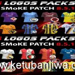 PES 2016 Kits Logos Pack 2D + 3D For SMoKE Patch 8.5.1