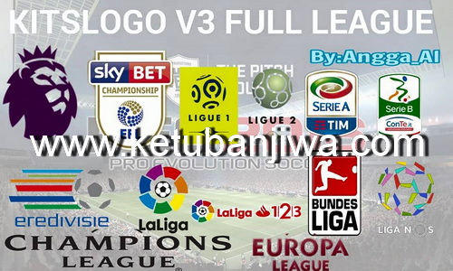 PES 2016 Kitslogo v3 Full League By Angga_al