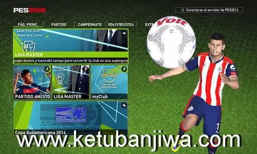 PES 2016 Liga MX Season 16/17 For PTE 6.0 by PES MX Team Ketuban Jiwa