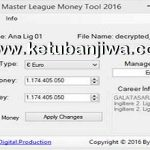PES 2016 Master League Money Tool v2.0 by Devil Cold52