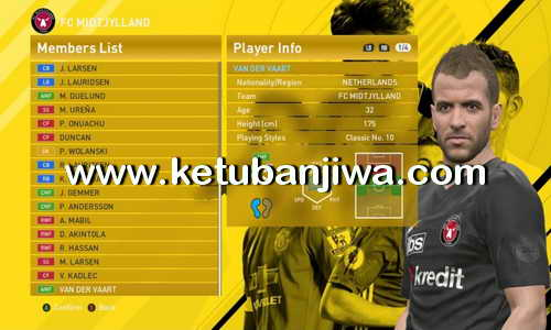 PES 2016 Option File 5.0 Transfer Update For PTE Patch 6.0 by Niniboy Ketuban Jiwa