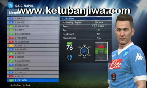 PES 2016 Option File Transfer Update 05 August 2016 PTE Patch 6.0 by Ramin_cpu Ketuban Jiwa