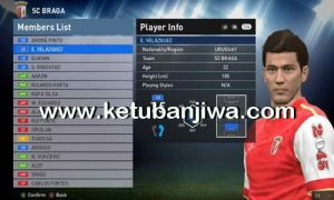 PES 2016 Option File Transfer Update 21 August 2016 PTE Patch 6.0 by Ramin_cpu Ketuban Jiwa