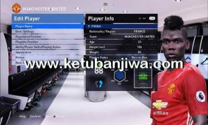 PES 2016 Option File Update TSC 3.2 For PTE Patch 6.0 by iPatch Team Ketuban Jiwa