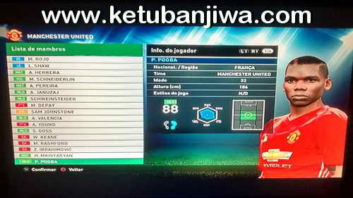 PES 2016 PS3 BLUS WS Patch 4.0 Season 16-17 Preview 2 Ketuban Jiwa