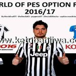 PES 2016 PS3 Option File Shot Team v2 Season 2016/17