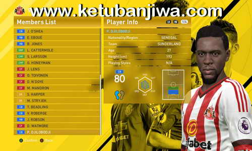 PES 2016 PTE 6.0 Transfer Update 08-08-2016 by Niniboy Ketuban Jiwa
