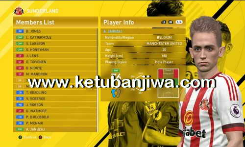 PES 2016 PTE 6.0 Transfer Update 6.0 by Niniboy Ketuban Jiwa