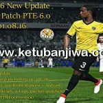 PES 2016 PTE Patch 6.0 Option File Update 01/08/2016