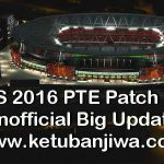 PES 2016 PTE Patch 6.1 Unofficial Big Update