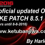 PES 2016 SMoKE Patch 8.5.1 Option File Update 08.08.16