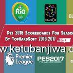PES 2016 Scoreboard Season 2016/17 by TopHardSoft