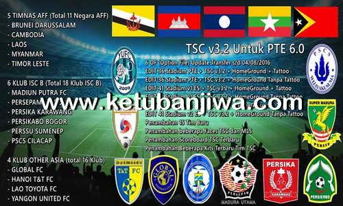 PES 2016 Torabika SC 3.2 For PTE 6.0 by iPatch Team Ketuban Jiwa