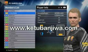 PES 2016 Transfer Update 26 August 2016 PTE Patch 6.0 by Ramin_cpu Ketuban Jiwa