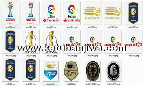 PES 2016 Update Emblem - Badge - Flag Season 16-17 For PTE 6.0 Ketuban Jiwa