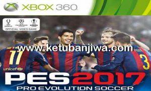PES 2017 Demo XBOX 360 RGH Metalex Patch Ketuban Jiwa