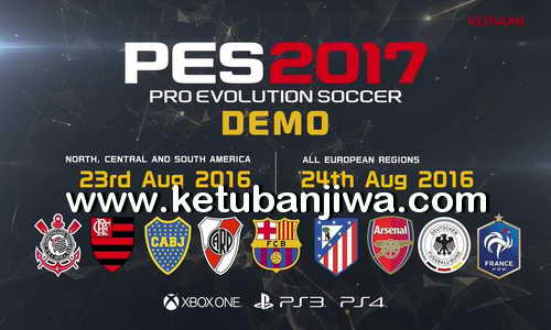 Pro Evolution Soccer PlayStation 3 PES 2017 Demo PS3 Single Link Torrent Ketuban Jiwa
