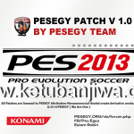 PES 2013 PESEGY Patch v1.0 by Eslam Robin