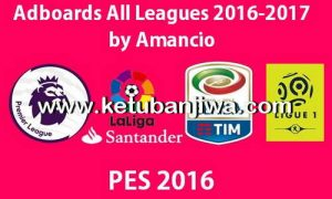 PES 2016 Adboards Big Pack All Leagues Season 16/17