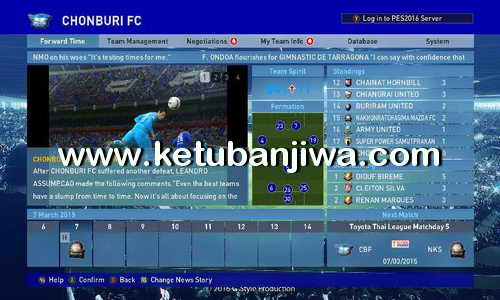 PES 2016 Dunksuriya Patch 6.0.4 Update Ketuban Jiwa