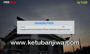 PES 2016 Game Play Patch 1.00 by YuGo Ketuban Jiwa