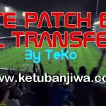 PES 2016 PTE 6.0 Full Transfer Update Season 16/17