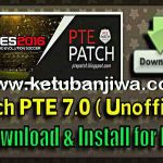 PES 2016 Unofficial PTE Patch 7.0 by Del Choc