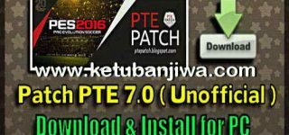 PES 2016 PTE Patch 7.0 Single Link Unofficial Season 16-17 by Del Choc Ketuban Jiwa