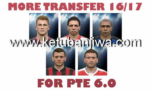 PES 2016 Transfer Update 02/09/2016 For PTE 6.0
