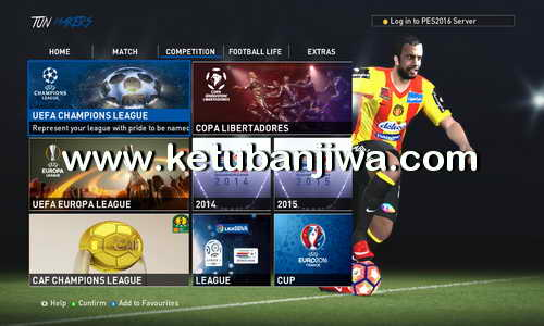 PES 2016 Tun Maker Patch 2.1 Final Update 09 September 2016 Ketuban Jiwa