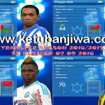PES 2016 PTE 6.0 Transfer Update 16/17 by Kimizan