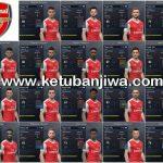 PES 2017 Arsenal Facepack 1.0 by Tran Ngoc