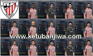 PES 2017 Athletic Bilbao Facepack 1.0 by Tran Ngoc