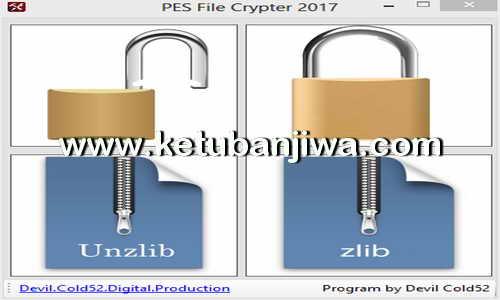 PES 2017 File Crypter Tool by Devil Cold52 Ketuban Jiwa