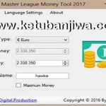 PES 2017 ML Money Tool v1.00 by Devil Cold52