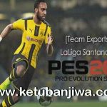 PES 2017 PS3 LaLiga Santander Team Exports by JeeCkho