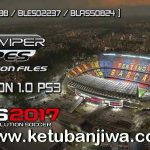 PES 2017 PS3 GtViperPES Option File 1.0