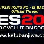 PES 2017 PS3 Ikui Option File Version 01