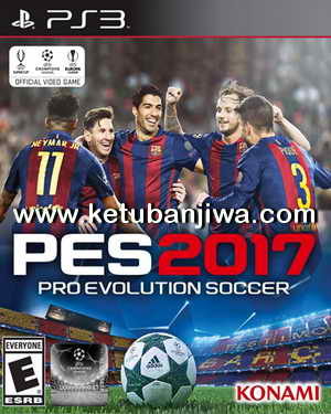 PES 2017 PS3 Option File LGBR BLUS31598 Ketuban Jiwa