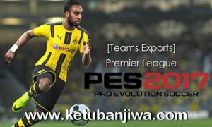 PES 2017 PS3 Premier League Kits by JeeCkho Ketuban Jiwa